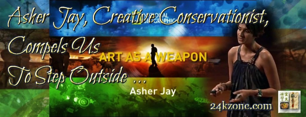 Asher Jay Creative Conservationist Compels Us To Step Outside