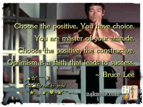 Choose the positive