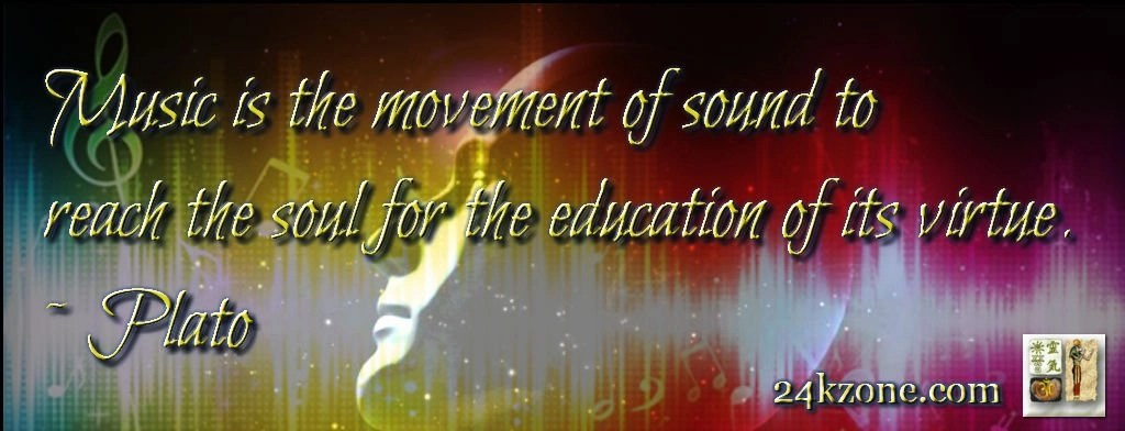 Music is the movement of sound