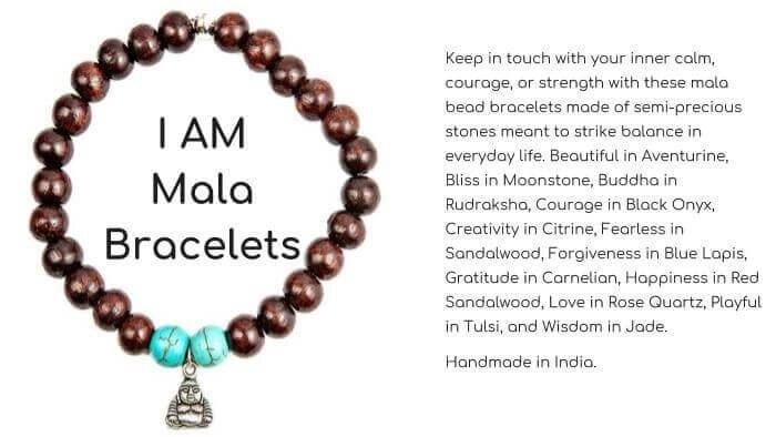 I AM Mala Bracelets