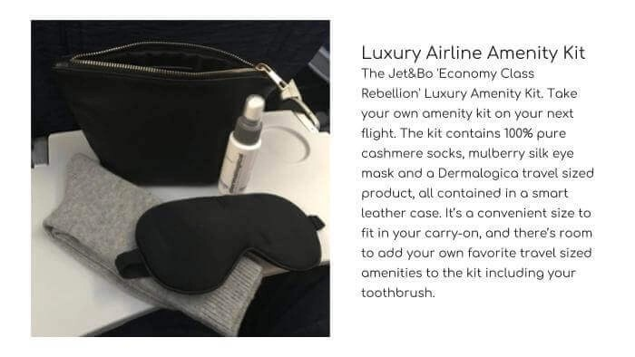 JET&BO Luxury Airline Amenity Kit