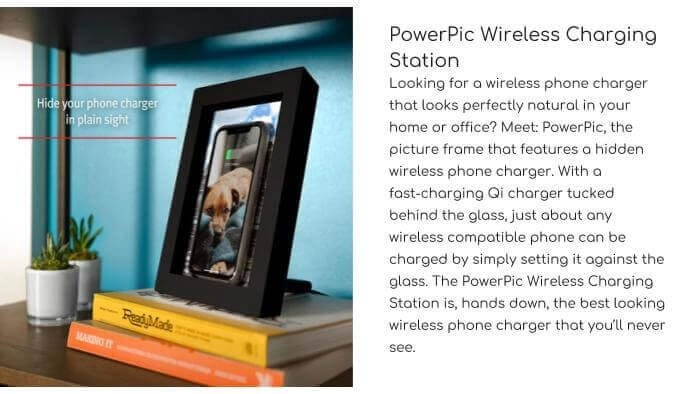 TWELVE SOUTH PowerPic Wireless Charging Station