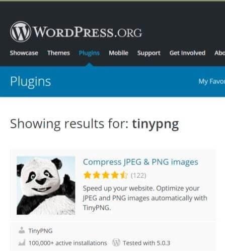 tinypng plugin screenshot