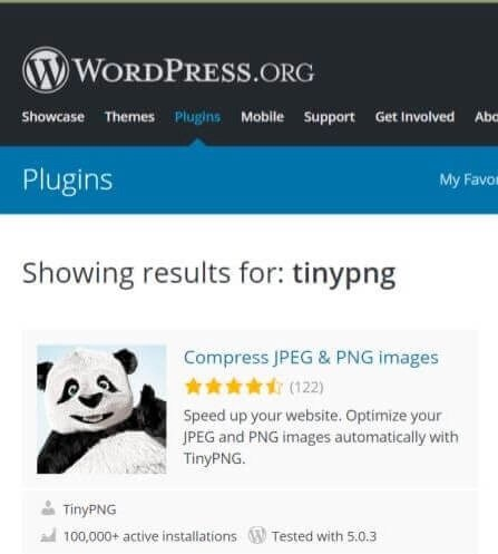 tinypng plugin screenshot
