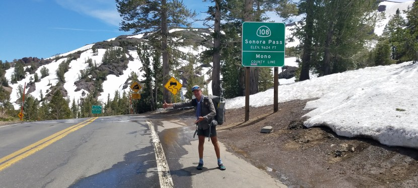 J 60/61 – 29 et 30 juin. Sonora Pass (+ repos à Bridgeport)