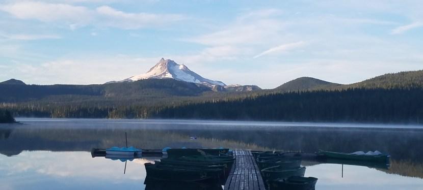J 105 – 13 août. Timothy Lake (Mile 2076)
