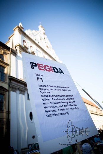 PEGIDA's central thesis.