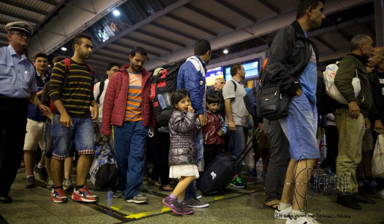 refugees 3 3 - Migrants continue to arrive in Munich despite situation in Hungary