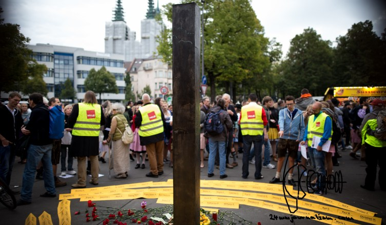 wiesnattentat 2609156 - Commemoration for victims of neonazi terrorist bombing on Oktoberfest 26th September 1980