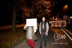 Counter-terrorism suspect and PEGIDA Munich founder lead the march through inner Munich.