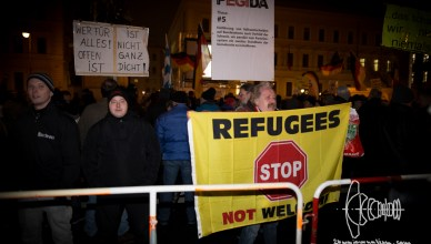 pegida 20160118 4 - PEGIDA Munich marches through freezing cold Munich