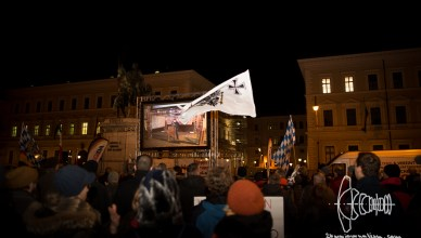 pegida 20160201 1 - PEGIDA Munich blocked twice - forced to full stop