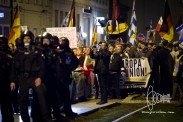 PEGIDA marched is stopped.