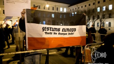 pegida 20160321 9 - PEGIDA Munich blocked - Marches back on original Route