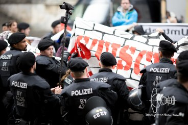 AfD Munich holds rally on Odeonsplatz