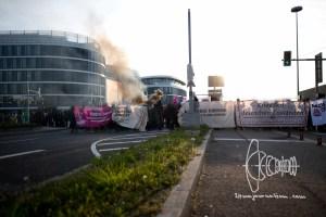 stuttgart afd parteitag 160430 6 - Protests against meeting of AfD in Stuttgart