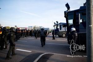 stuttgart afd parteitag 160430 9 - Protests against meeting of AfD in Stuttgart