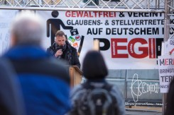 Heinz Meyer - PEGIDA Munich leader speaks.