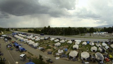 header article - Camp Eviction at Macedonian Border