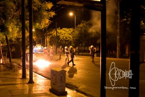 pegida 140915 5 2 - Attacks by Anarchists out of Polytechniko University