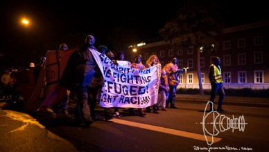protestmarch end 20161019 10 - Non-Citizen's Protest March Reaches BAMF in Nuremberg
