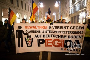 pegida 20161205 11 - PEGIDA Munich marches - neonazis hold speeches