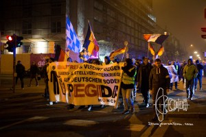 pegida 20161205 12 - PEGIDA Munich marches - neonazis hold speeches