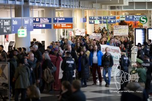 deportation munich airport 20170222 14 - Germany deports to Afghanistan from Munich airport - activists rally at Munich airpor