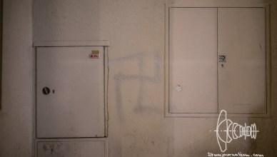 pegida blog 20170306 4 - PEGIDA Munich March 6th - Spraypainted Swastika & Thirteen Arrests