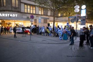 Neonazis rallying.