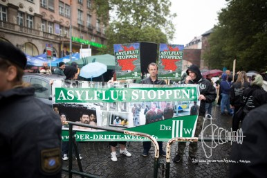 Neonazis Rally Against Neonazi Protest in Munich