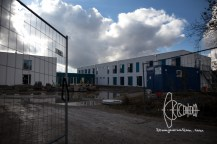 Refugee housing.