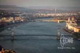 View over the Danube.