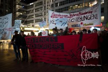 Germany deports to Afghanistan from Munich airport - activists rally at Munich airpor