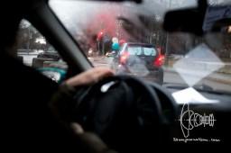 Motorcade starts close to Munich Theresienwiese.