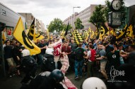 Situation clams down, IDentitarians pull back