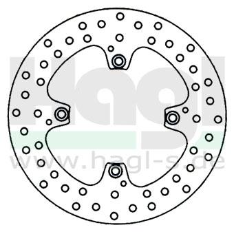 Motorradzubehör Bremsscheiben vom Hersteller Brembo