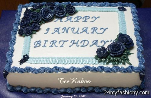 January Birthday Cake Images Looks B2b Fashion