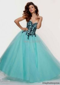 baby blue and black quinceanera dresses 2016-2017 | B2B ...