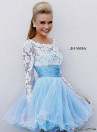 baby blue winter formal dresses 2016-2017 | B2B Fashion