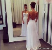 backless prom dress tumblr 2016-2017 | B2B Fashion
