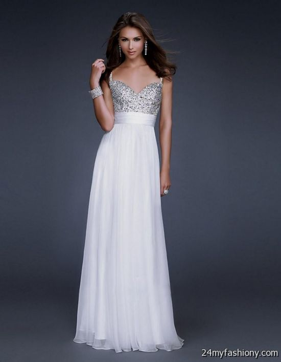 beautiful white prom dresses 2016-2017 » B2B Fashion