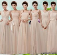 Beige Bridesmaid Dresses | All Dress