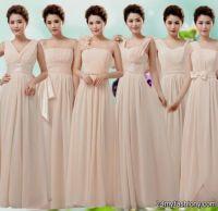 Beige Bridesmaid Dresses   All Dress