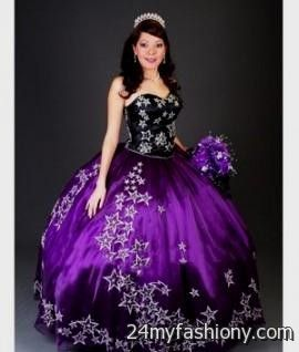 black and purple sweet 16 dresses 2016-2017 » B2B Fashion