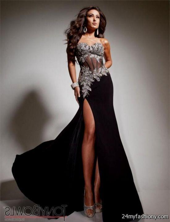 Elegant Black Cocktail Dresses