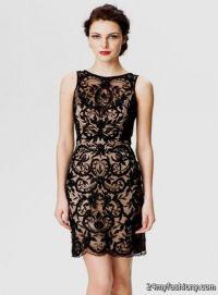 black lace semi formal dresses 2016-2017   B2B Fashion