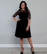 Black Semi Formal Dresses Plus Size - Prom Dresses 2018