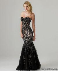 black vintage lace prom dresses 2016-2017 | B2B Fashion