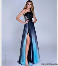 blue and black prom dresses with straps 2016-2017 | B2B ...